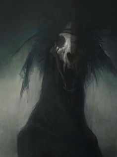 All things related to The Witcher. Creepy Art, Scary, Creepy Stuff, Creepy Horror, Vampires, Dark Fantasy, Fantasy Art, Illustrations, Illustration Art