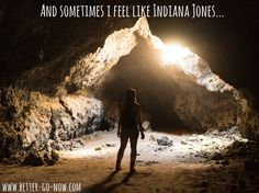 Sometimes i feel like Indiana Jones... You know that feeling? ;) Go on feeling like Indiana Jones - travel with Better Go Now