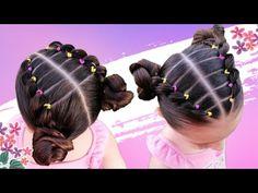 Black Baby Hairstyles, Cute Toddler Hairstyles, Girls Natural Hairstyles, Kids Braided Hairstyles, Baddie Hairstyles, Little Girl Hairdos, Curly Hair Styles, Natural Hair Styles, Girl Hair Dos