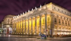 Bordeaux, France. Le grand Theatre. Stunning