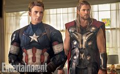 'Avengers: Age of Ultron': 8 New Photos  Captain America, Thor, Quicksilver, Scarlet Witch, Iron Man, more in EW exclusive sneak peeks