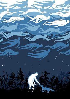 Robert Frank Hunter, The New Ghost — Happy Halloween!!