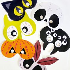 Printable Masks for Kids - Mr Printables