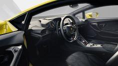 Lamborghini Huracán interiors   Top Luxury Brands http://www.clubdelux.pt/top-luxury-brands-lamborghini #best #luxury #sport #car #brands
