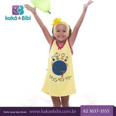 Conheça nossa linha especial de pijamas com histórias da Bíblia e mensagens de Deus. Acesse nossa loja virtual → www.kakaebibi.com.br