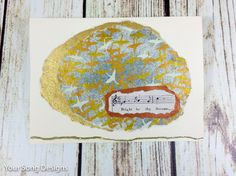 Seagulls-Bird Art-Sheet Music Art-Handmade Graduation Card by YourSongDesigns on Etsy
