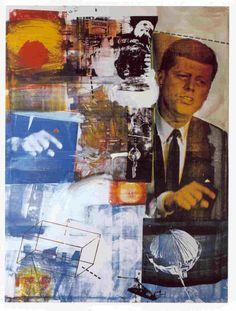 Kennedy  Robert Rauschenberg