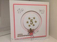 SCRAPATMOSPHERE, les ateliers créatifs de Catherine: Une petite fée pour une carte d'anniversaire