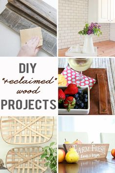 I'm all about taking it easy in the summertime. I keep my cooking, my crafts, and my blogging and photography assignments light. That's what I love about DIY reclaimed wood projects. They are simple yet stunning and most can be crafted in one afternoon.