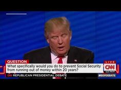 Trump promised over and over to 'save' Medicare, Medicaid and Social Security. Will he? - YouTube