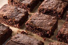 Fudgy Double-Chocolate Brownies