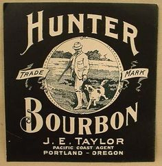 Bourbon label..
