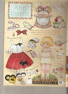 (⑅ ॣ•͈ᴗ•͈ ॣ)♡                                                                                                                  Paper doll by Ann Estelle