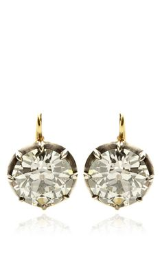 Shop Silver Gold And Diamond Earrings by Stephen Russell Now Available on Moda Operandi