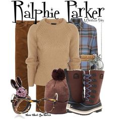 Inspired by Peter Billingsley as Ralphie Parker in 1983's A Christmas Story.