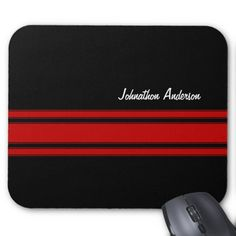 $$$ This is great for          	Modern Red And Black Racing Stripes With Name Mousepads           	Modern Red And Black Racing Stripes With Name Mousepads We have the best promotion for you and if you are interested in the related item or need more information reviews from the x customer who are...Cleck Hot Deals >>> http://www.zazzle.com/modern_red_and_black_racing_stripes_with_name_mousepad-144682819268302780?rf=238627982471231924&zbar=1&tc=terrest