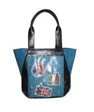 ESPE Vacation Blue Tote Bag Purse Handbag