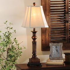 Add a simple and classic table lamp to your home with our Bronze Resin Richard Table Lamp. It's bell shade and bronze finish add elegance to any room. Buffet Table Lamps, Tiffany Table Lamps, Unique Table Lamps, Glass Table, Tables, Classic Home Decor, Classic House, Lamp Sets, Furniture Decor