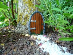 Feentür ELFENTÜR Zauberhafte Gartendeko HOBBIT Tor