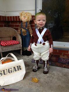 Baby Oompa Loompa - Halloween Costume Contest via @Costume Works