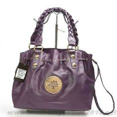 da6dcccde3c9 Buy Womens Mulberry Daria Drawstring Leather Tote Bag Purple On Cyber  Monday Mulberry Bag