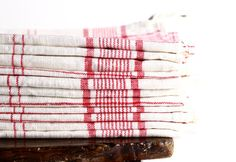 Vintage French linen tea towel.