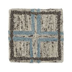 "Elias Sky 12"" sq. Rug Swatch  