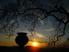 Un piacevole tramonto