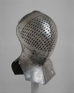 Foot-Combat Helm of Sir Giles Capel (1485–1556) | possibly British | The Metropolitan Museum of Art
