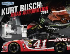Kurt Busch's No. 41 #Haas Automation hero card for 2014. Here's to a winning season for Kurt and the entire +Stewart-Haas Racing team!