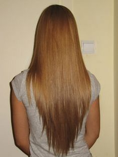 long v cut hair layers for wavy hair | shaped haircut color shape haircut long v haircut i love v shaped ...