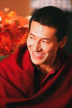 A beautiful photo of my teacher, Thaye Trinley Dorje, 17th Karmapa.
