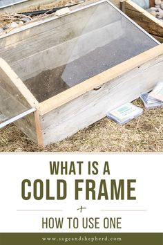 Cold frame gardening allows you to plant earlier in the spring and later in the fall and grow MORE food! Click to learn all about cold frame gardening. Starting A Vegetable Garden, Vegetable Garden For Beginners, Gardening For Beginners, Gardening Tips, Cold Frame Gardening, Best Seasons, Raised Garden Beds, Garden Planning, Spring