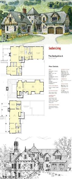 Southern Living | The Derbyshire A Plan SL-1703 A