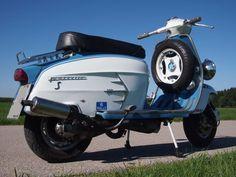 1961 Lambretta SX200, AF S-Type Replica: