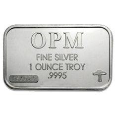 1 oz OPM Silver Bar