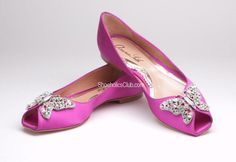 Adorable Butterfly Flats by Aruna Seth | Shoeholics Club