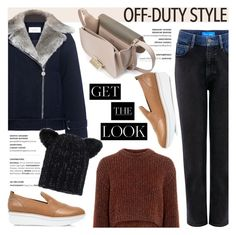 """""""How to Rock Off-Duty Model Style"""" by ifchic ❤ liked on Polyvore featuring M.i.h Jeans, 10 Crosby Derek Lam, TIBI, Eugenia Kim, ZAC Zac Posen, GetTheLook, contestentry, offduty, ifchic and ModelLook"""