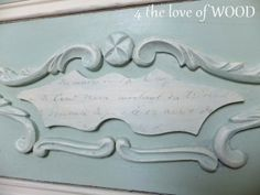 4 the love of wood: HOW TO PAINT A TWO COLOR DRESSER