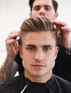 Best Haircuts for Men Los Mejores Cortes de Cabello Para Hombres 2019 fashion-cuts-of-hair-for-the-square-face - Cool Hairstyles For Men, Cool Haircuts, Hairstyles Haircuts, Haircuts For Men, Haircuts Straight Hair, Mens Hairstyles Fade, Short Hair Cuts, Short Hair Styles, Gents Hair Style