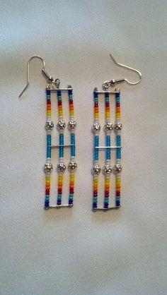 Native American made earrings