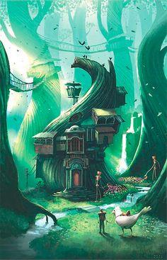 The Art Of Animation, Kazu Kibuishi