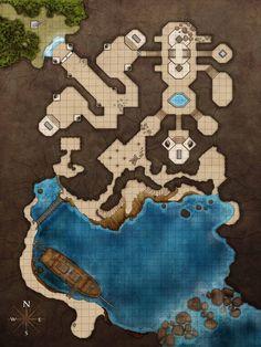 """Résultat de recherche d'images pour """"fantasy battle map palais elfe"""""""