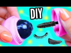 Watch How She Makes Her Own Mascara (Wow!) - DIY Joy