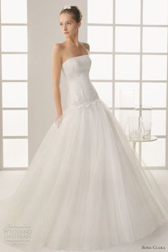 Not usually a drop waist lover but this gown is gorgeous!