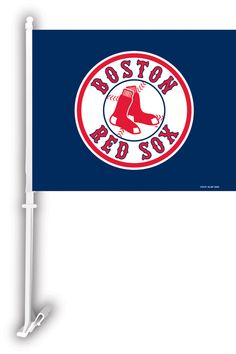 $29.99 Free Shipping Set of 2 Car Flags  Boston Red Sox  MLB professional sports merchandise
