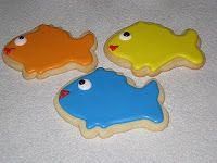 Best Tasting Sugar Cookies Ever!!: Fish Friends