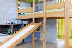 Im destyle-Bett eingehängte Rutsche