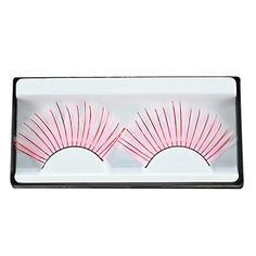 Faux Eyelashes for Party and Salon Studio Makeup Colors Available - USD $ 1.43