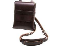 Handmade leather satchel. I want one so badly!
